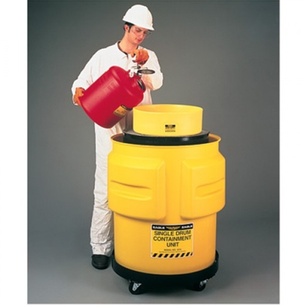 Eagle Single Drum Polyethylene Spill Containment Unit