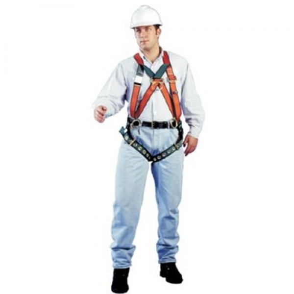 MSA Classic Pullover  Harness With Tongue Buckle And 4 D-Rings