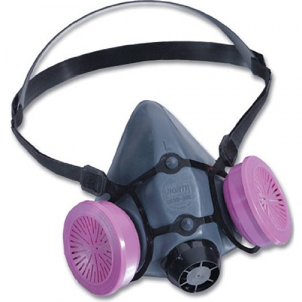 Half Mask Respirator Convenience Pack With 2 7580P100 Filters