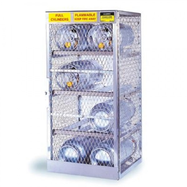 Justrite  Horizontal Storage Locker For Flammables Cylinders