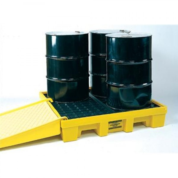 Eagle Four Drum 66 Gallon Polyethylene Spill Control Nestable Pallet