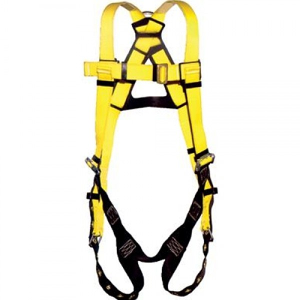 DBI/SALA Vest Style Full Body Harness With Tongue Buckle Straps