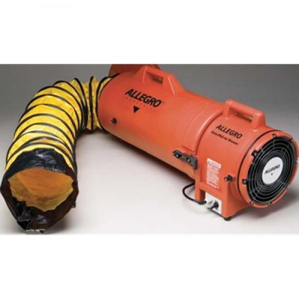 Allegro  Industries COM-PAX-IAL Blower with Canister and Ducting