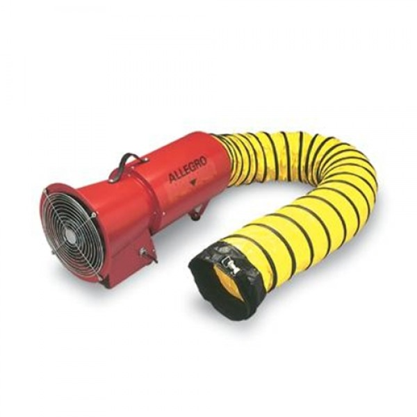 Allegro Industries AC 1/3 Horse Power Axial Blower With Canister