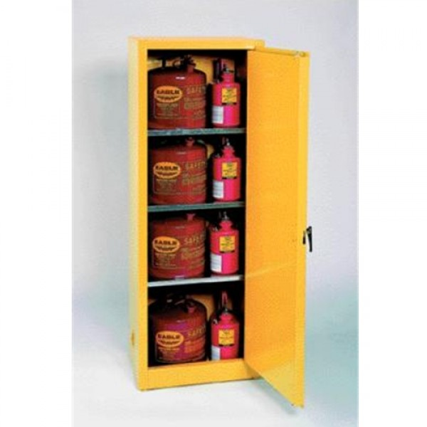Eagle 24 Gallon Safety Storage Cabinet With Self-Closing Doors