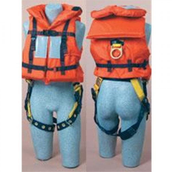 DBI/SALA Orange Off-Shore Lifejacket For Use With Harness
