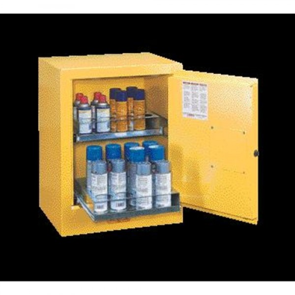 Justrite  Aerosol Can Bench Top Safety Cabinet