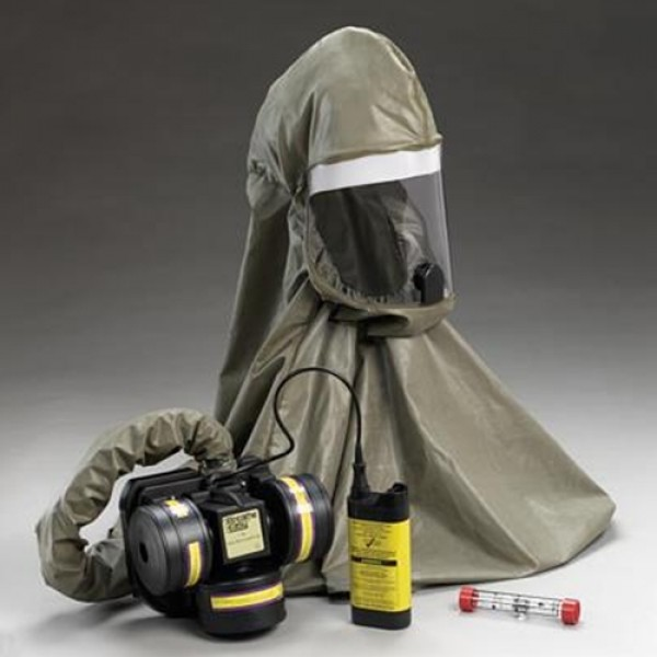 3M Breathe-Easy PAPR With Tubo Unit Rubber Hood And Breathing Tube