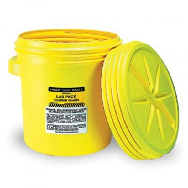 Eagle Haz-Mat Containment 20 Gallon Lab Pack With Screw Top Lid