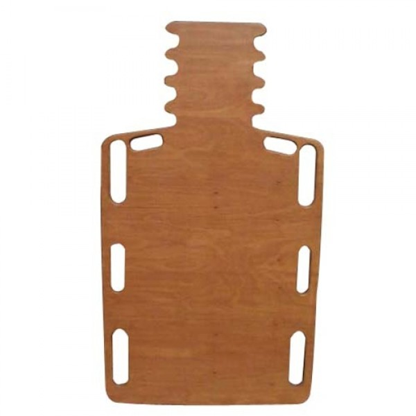 Wood Short Spine Backboard