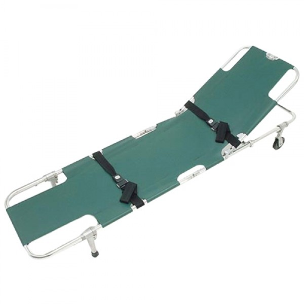 Easy Fold Wheeled Folding Stretcher
