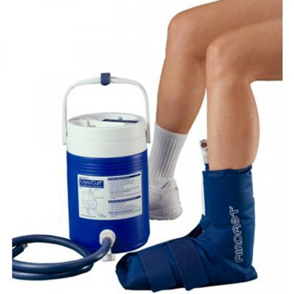 Aircast Cryo Cuff Ankle System with Cooler