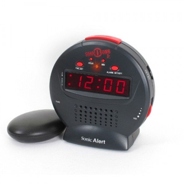 Sonic Bomb Jr Alarm Clock with Bed Shaker