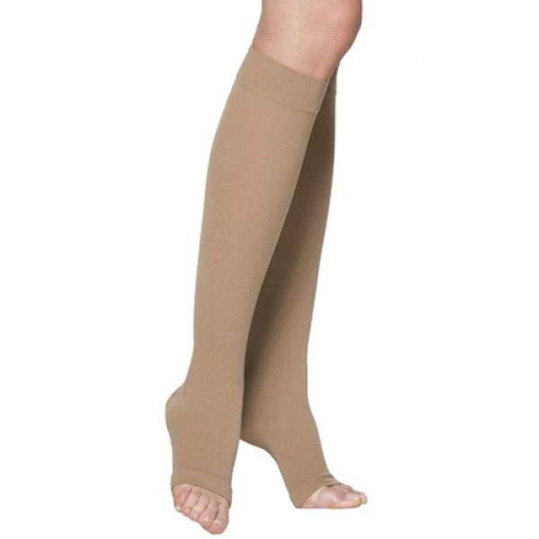 Sigvaris Cotton Medical Therapy Knee High Open Toe 20-30mmHg