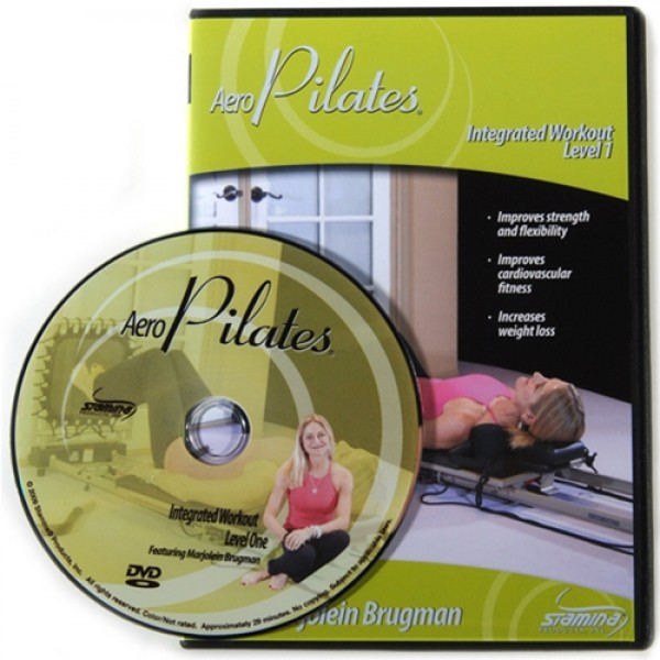 Stamina Integrated AeroPilates Workout DVDs