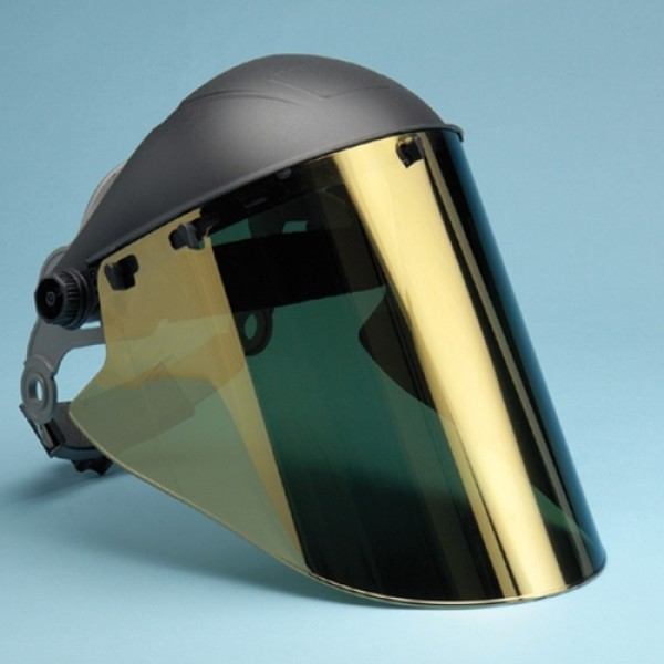 Elvex Gold Coated Lexan Face Shield