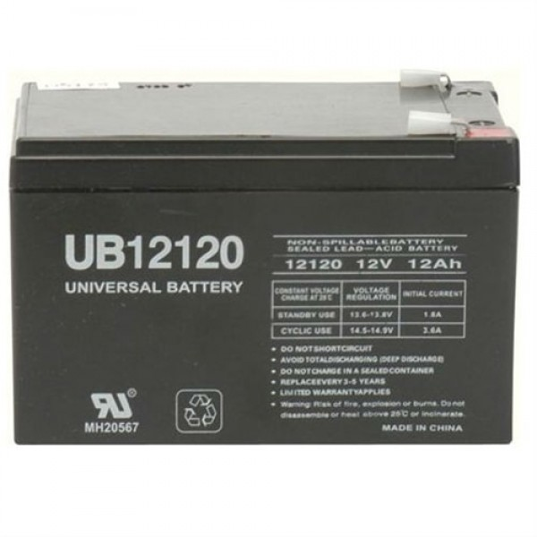UPG 12V 12Ah Sealed Lead Acid AGM Battery UB12120