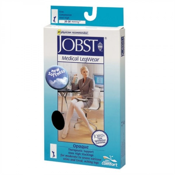 Jobst Opaque 20-30 mmHg Petite Knee High Closed Toe