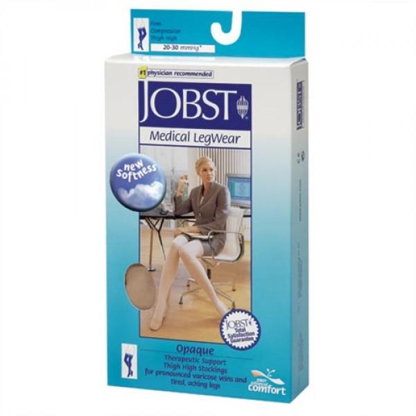 Jobst Opaque 20-30 mmHg Thigh High Closed Toe w/ DOT Band