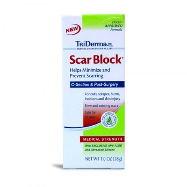 Genuine Virgin Aloe Triderma Scar Block for Kids