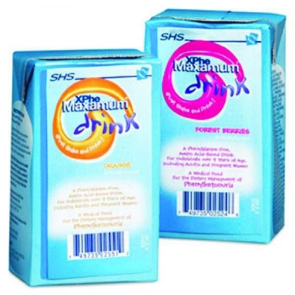 NUTRICIA SHS N AMERICA XPhe Maxamum Drink
