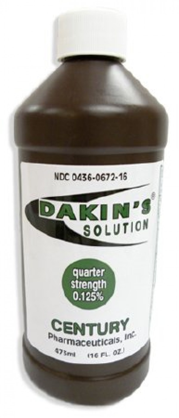 Century Pharmaceuticals Dakins Antiseptic First Aid Solution