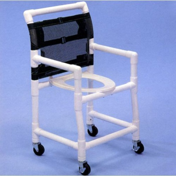 Aqua Creek PVC Shower Commode Wheelchair