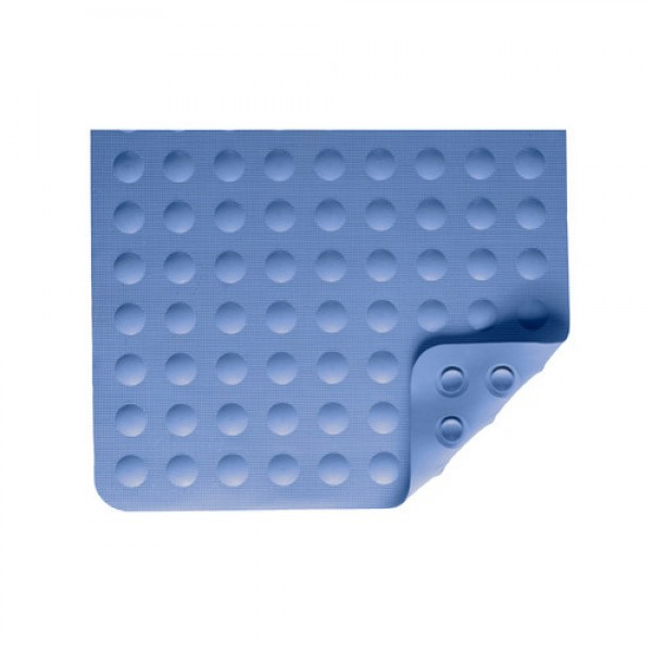 Nova Rubber Bath Mat - Blue