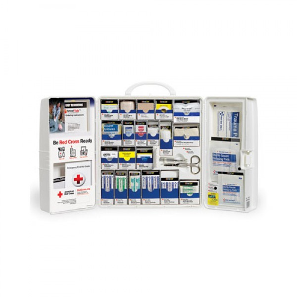 Red Cross SmartCompliance Workplace First Aid Cabinet Large