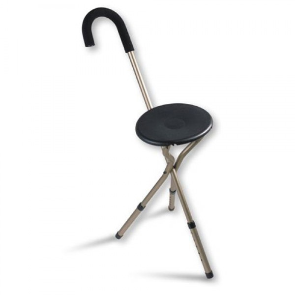 Nova Adjustable Folding Seat Cane