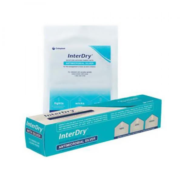 Coloplast InterDry Ag Skin Fold Management