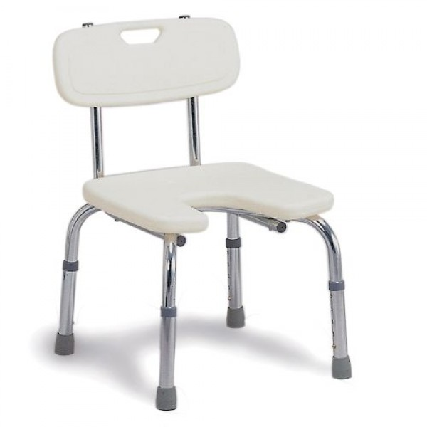 DMI Hygienic Bath Seat with Backrest