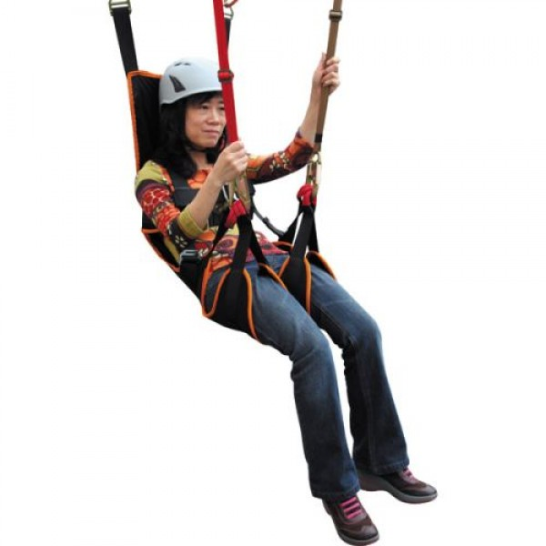 Fusion Roar Deluxe Full Body Zipline Harness