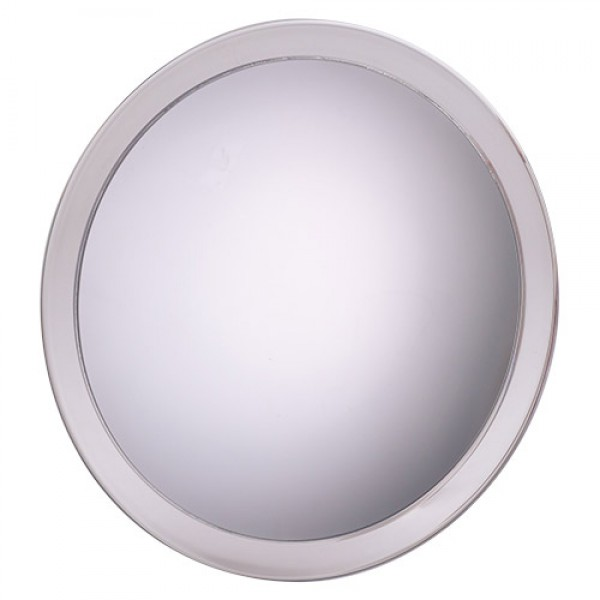 Jerdon 9-Inch Portable Suction Shower Mirror