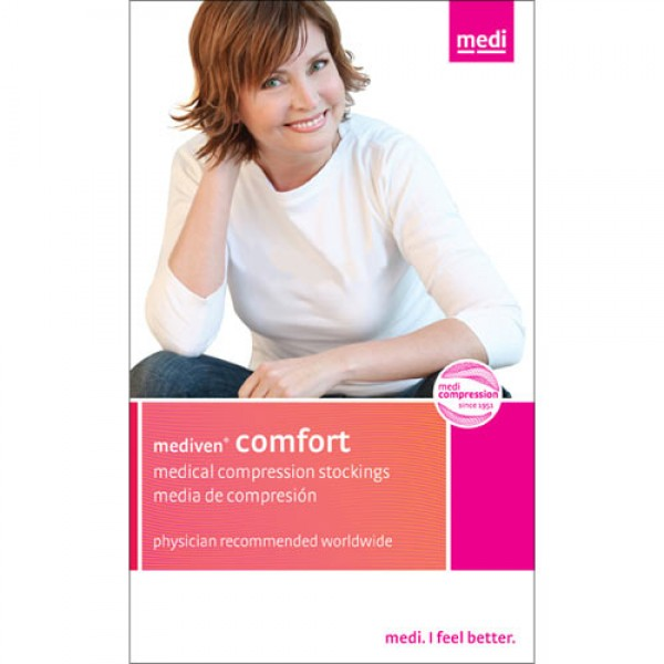 Mediven Comfort 30-40mmHg Maternity PantyHose CT w/Adj Waist