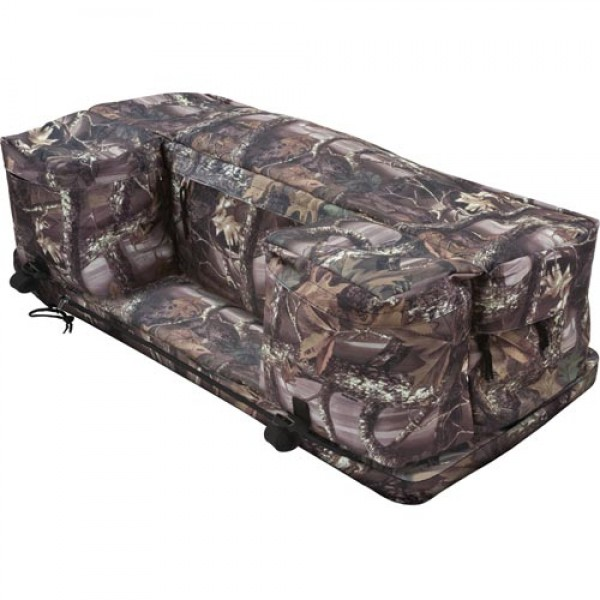 ATV Rack Pack with Cushion in Wood Camo