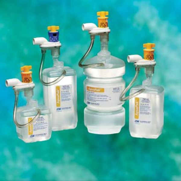 Teleflex Medical Aquapak Sterile Sodium Chloride 0.9% Inhalation Solution Prefilled Nebulizer 760 mL