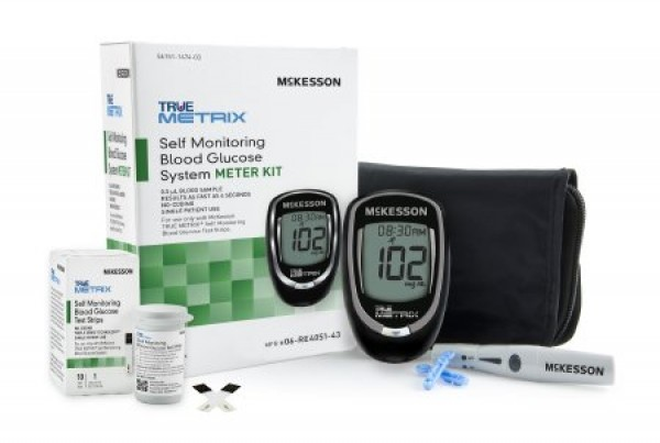 McKesson TRUE METRIX 4 Second Self Monitoring Blood Glucose System
