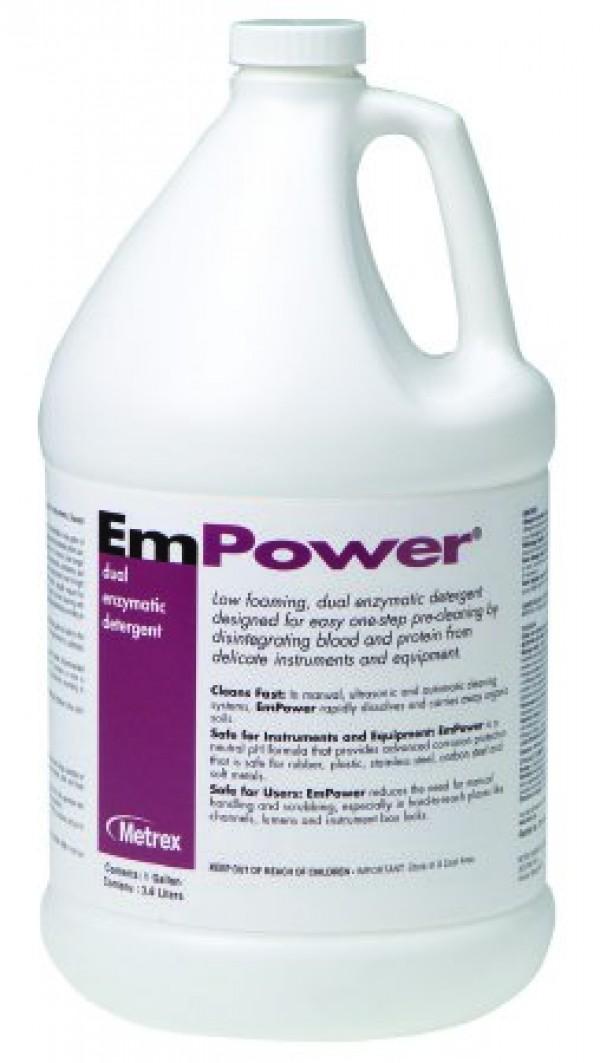 Metrex EmPower Dual Enzymatic Instrument Detergent Disinfectant