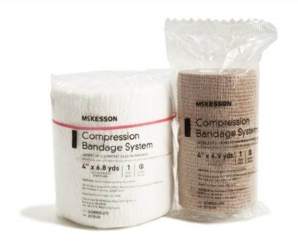 McKesson Multi-Layer Compression Bandage Systems, Two-Layer