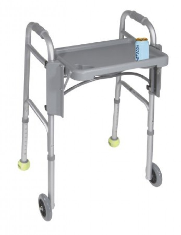 Drive Medical Drive Walker Tray with Cup Holders