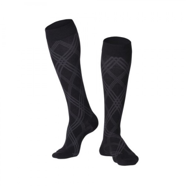 Surgical Appliance Men's Argyle Compression Socks 15-20 mmHg