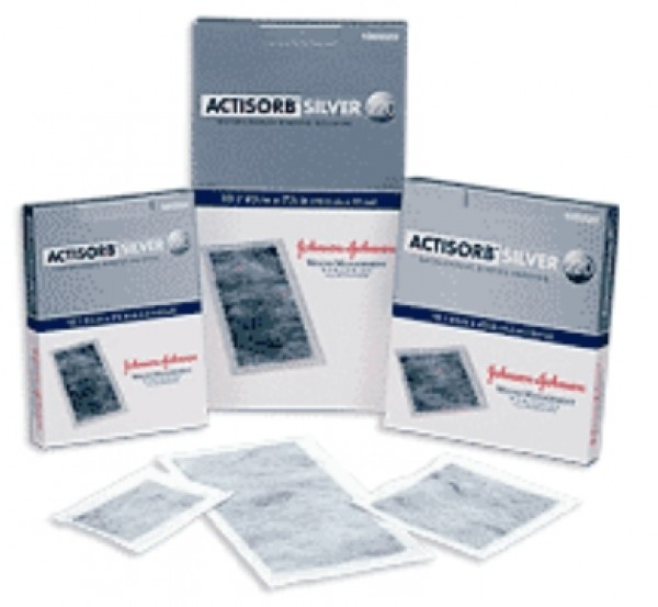Systagenix Actisorb Silver 220 Antimicrobial Binding Dressing