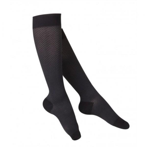 Surgical Appliance Women's Herringbone Compression Socks 15-20 mmHg