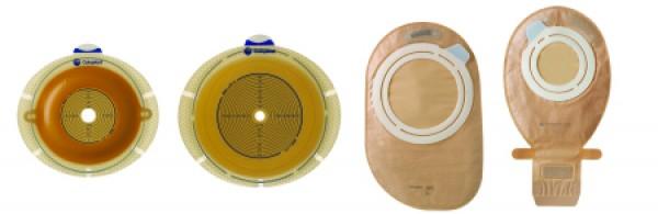 Coloplast Flex MAXI Closed Pouch System - Transparent