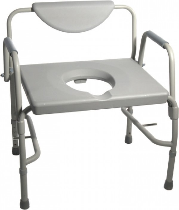 Drive Medical Deluxe Heavy Duty Bariatric Drop Arm Commode by Drive
