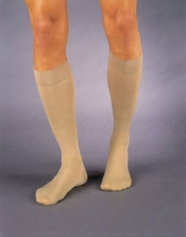 Relief Knee High Unisex Compression Socks OPEN TOE 20-30 mmHg by Jobst