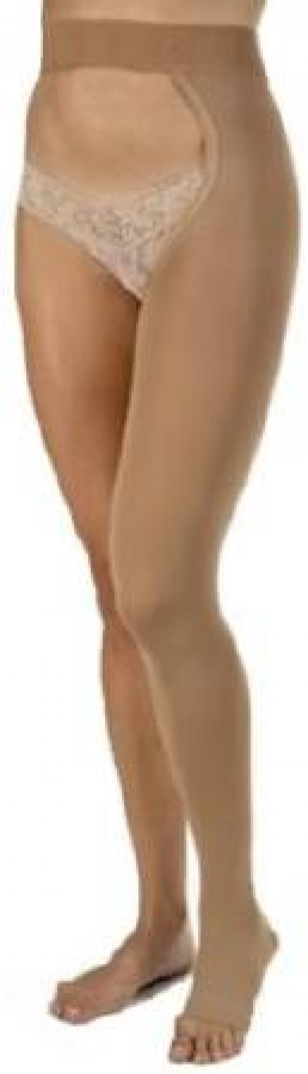Relief Single Leg Chap Compression Stockings OPEN TOE 20-30 mmHg by Jobst