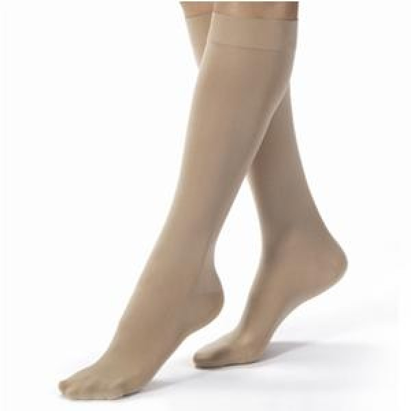Opaque Knee High Compression Socks CLOSED TOE 20-30 mmHg by Jobst