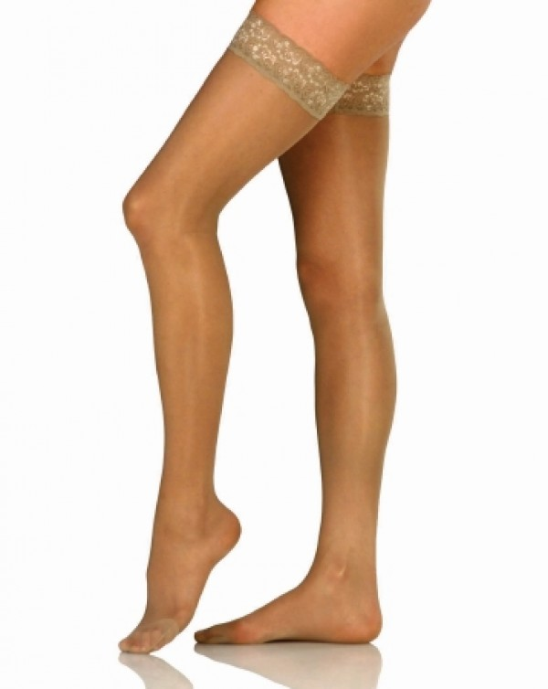 UltraSheer Thigh High Compression Stockings 8-15 mmHg by Jobst